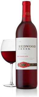 Redwood Creek Red Moscato 750ml - Case of 12